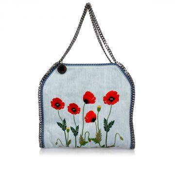 Embroidered FALABELLA Shoulder Bag