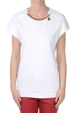 Cotton Sleeveless Sweatshirt