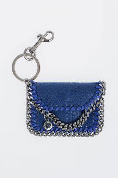 Faux Leather FALABELLA SHAGGY DEER Keychain
