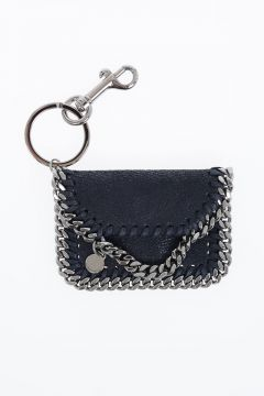 Faux Leather FALABELLA SHAGGY DEER Keychain
