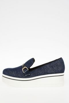 Fabric Slip On Shoes