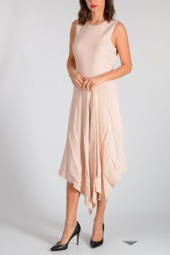 Asymmetric Cut Dress
