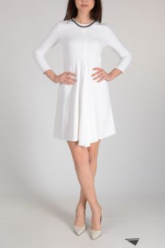 Shift Dress With chain