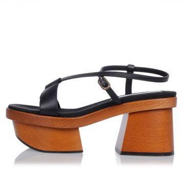 ALTEA Sandals with Wood Wedge