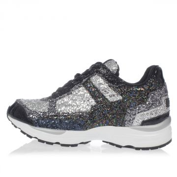 Glittered Fabric Sneakers