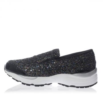Glittered Fabric Slip On