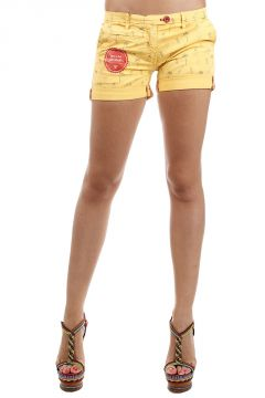 Shorts fantasia tropicale