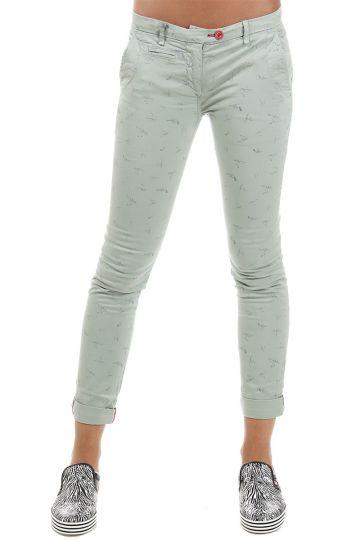 Pantaloni stampati stretch 15 cm
