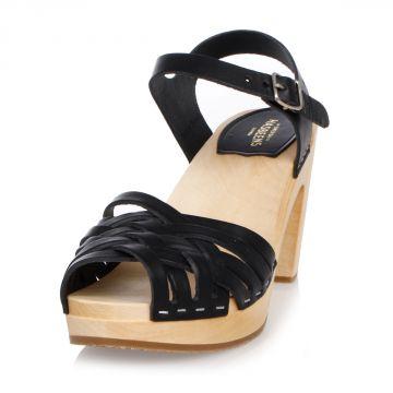 Sandalo BRAIDED SKY HIGH in Pelle 9 cm