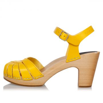 Sandalo in Pelle 8 cm