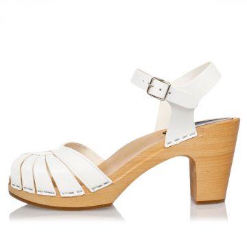 Sandalo FREDRICA in Pelle 8 cm