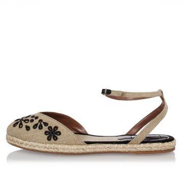 Sandalo DOTTY Con Ricamo