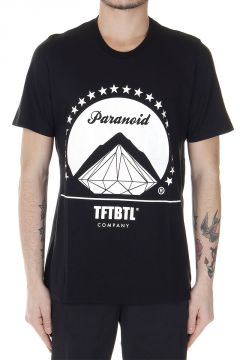 T-Shirt con Stampa Paranoid