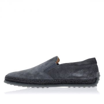 Sneakers Slip On in Pelle Scamosciata
