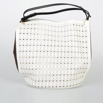 Borsa SIGNATURE BIG BUCKET PIERCING in Pelle