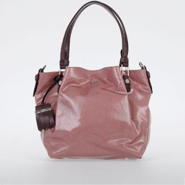 Fabric & Leather Handbag