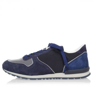 Suede and Fabric ACTIVE Sneakers