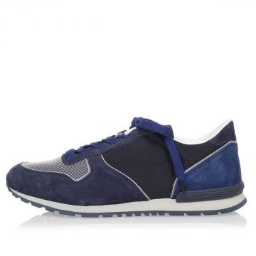 Sneakers ACTIVE in Pelle Scamosciata e Tessuto