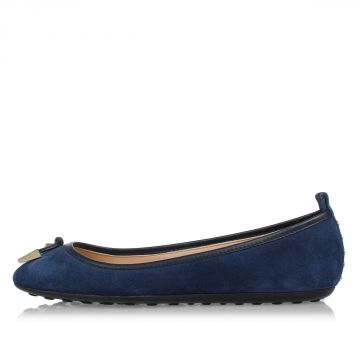 Leather suede Ballet Flat