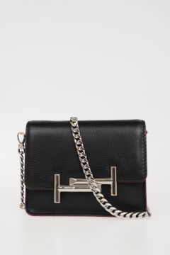 Pochette AMU CLUTCH MINI in Pelle