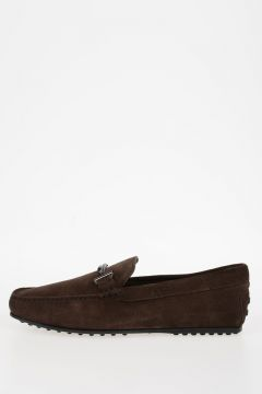 Suede Leather DOPPIA T Loafers