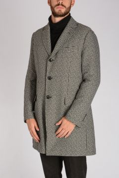 Cappotto Pied de Poul in Nylon