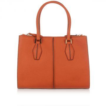 Saffiano Leather Shopper Bag