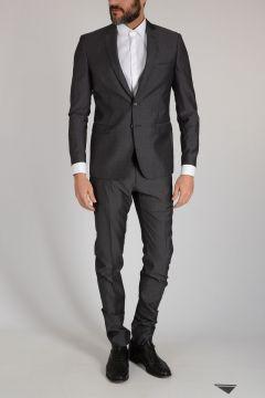 Virgin Wool Dot Suit