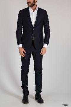 Virgin Wool Striped Suit