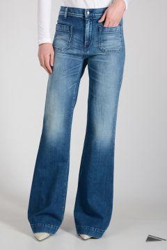 Jeans CIRCE Boot Cut in Denim Stretch 30 cm