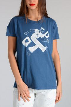 T-Shirt PASADENA in Jersey di Cotone