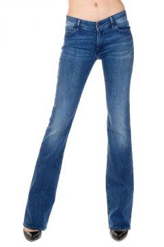 Jeans DRAKE a Zampa in Denim Stretch 23 cm