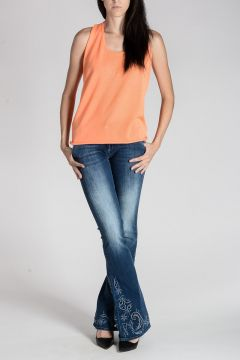 Jeans DUCK SPECIAL in Cotone Stretch 23 cm