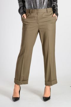 Pantaloni HEZE in Lana Vergine