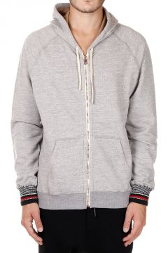 Merino's Wool and Cotton Hooded Sweatshirt