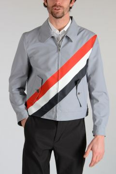 Diagonal Stripes Jacket
