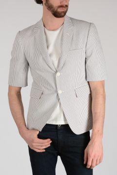 Short Sleeves Blazer