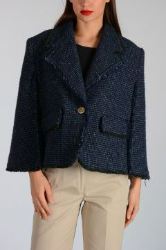 Giacca WIDE LAPEL CAPE