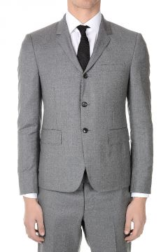 Single Breasted Suit in Wool