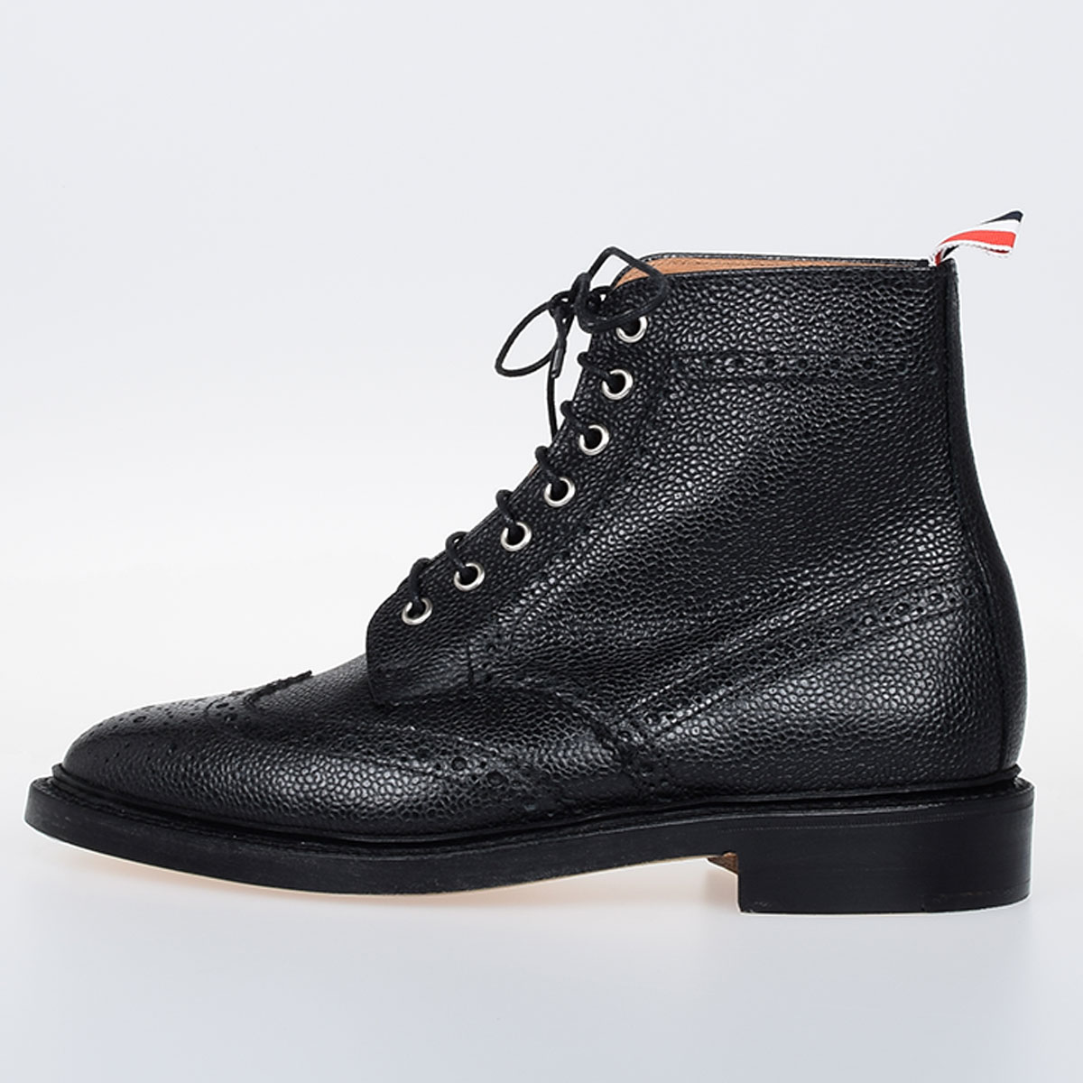 fd1d76210f1 Thom Browne Men Classic Wingtip Boot - Glamood Outlet