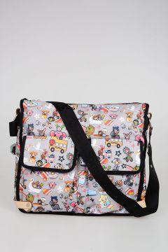 TokiDoki for LeSportsac CAMPEGGIO TRASPORTO Fabric Shopping Bag