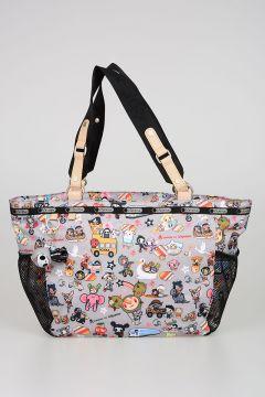 TokiDoki for LeSportsac BUON VIAGGIO TRASPORTO Fabric Bag