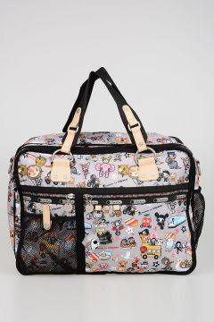 TokiDoki for LeSportsac TRENINO TRASPORTO Computer/Travel Fabric Bag
