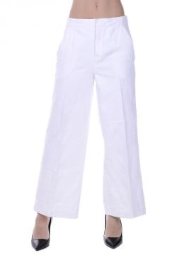 Cotton Cropped Pants