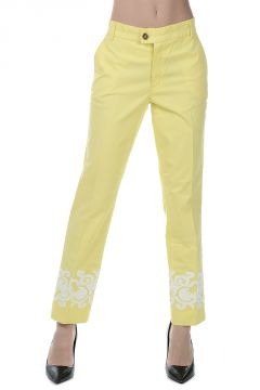 Pantaloni ADRIENNE in Cotone stretch