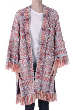 ERICA Fringed Tweed Jacket