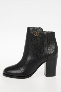 8cm Leather JUNCTION Ankle Boots