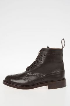 Leather STEPHY Derby Ankle Boots