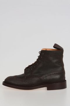 Leather AVIATOR Ankle Boot