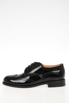 Patent Leather Derby Brogues ANNE Shoes